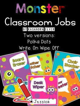 Monster Classroom Jobs