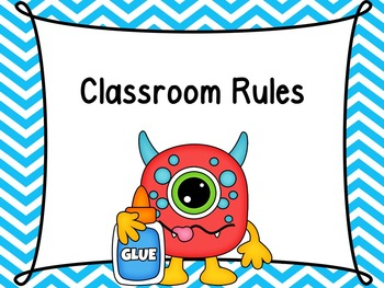 Monster Classroom Rules