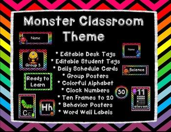 Monster Classroom Theme
