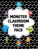 Monster Classroom Theme Pack (editable)