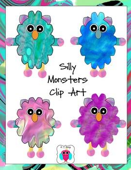 Monster Clip Art Freebie
