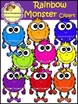 Monster Clip Art (School Designhcf)
