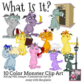 Monster Clip Art for Describing Every Day Objects Clipart