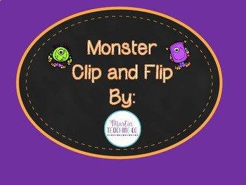 Monster Clip and Flip