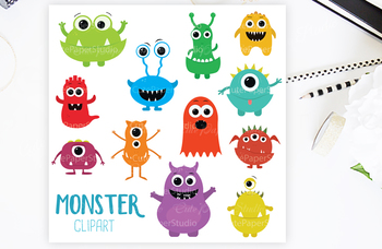 Monster Clipart Characters