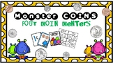 Identifying Coins (Math Centers)
