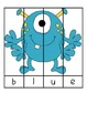 Monster Color Word Puzzles