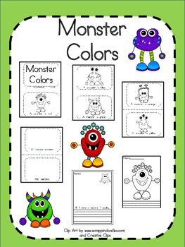 Monster Colors - An Emergent Reader about Colors