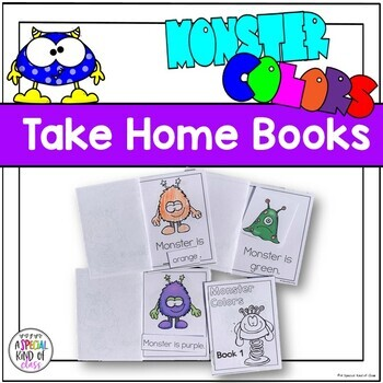 Adapted Books Monster Colors