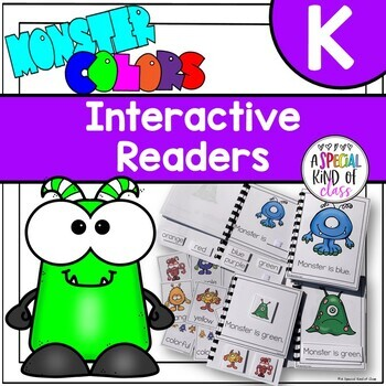 Monster Colors Interactive Easy Reader