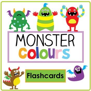 Monster Colour Flashcard Set