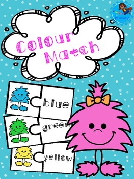 Monster Colour Match - ENGLISH