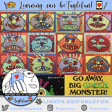 Monster Construction Paper Collage Step-by-Step Guide (Primary)