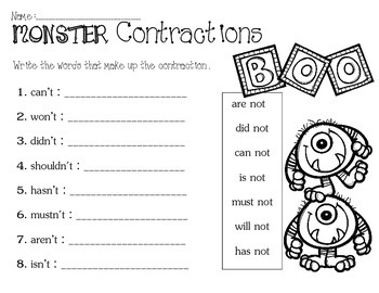 Monster Contractions