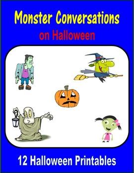 Monster Conversations on Halloween