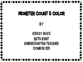 Monster Count & Color