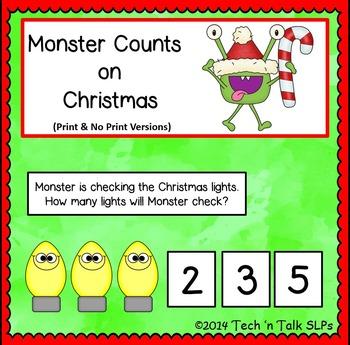 Monster Counts on Christmas