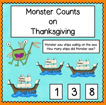 Monster Counts on Thanksgiving