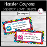 Monster Coupons (Classroom Reward System)