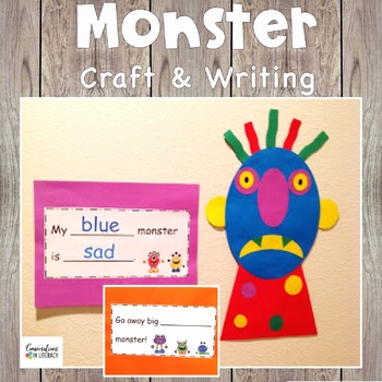 Monster Craft and Writing with Go Away Big Green Monster