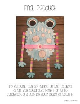 Monster Craftivity