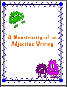 Monster Creative Writing and Stationary