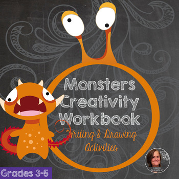 Monster Creativity Workbook - Creative Writing Workbook and Activities