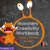 Monster Creativity Workbook - Creative Writing Workbook an