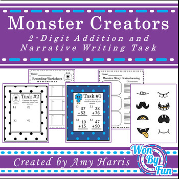 Monster Creators Math and Writing