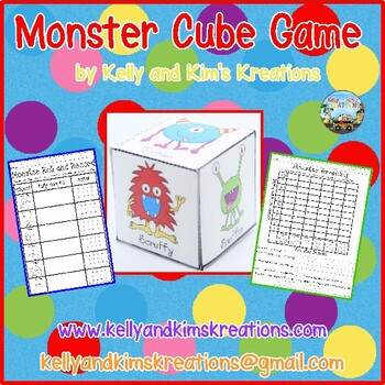 Monster Cube Game