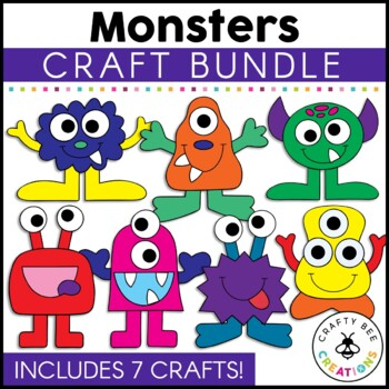 Monster Cut and Paste Set