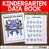Kindergarten Data Book - Student Data Book