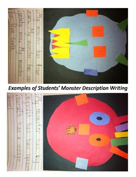 Monster Description Writing & More