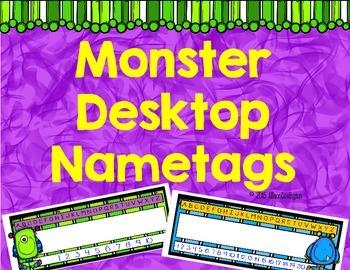 Monster Desktop Nametags