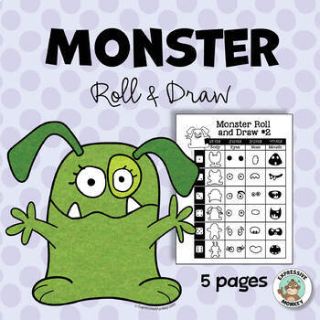 Monster Roll  and Draw Sheets