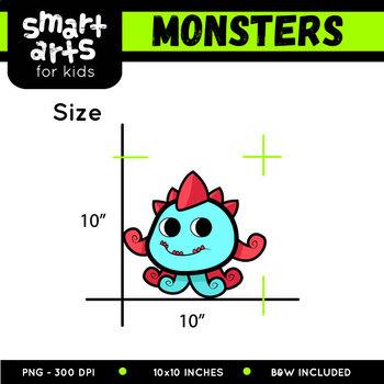 Monsters Clip Art