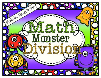 Math Monster Division