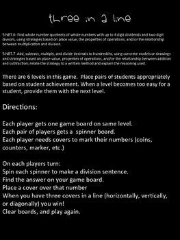 Monster Division - 2 Partner Games - 5.NBT.5
