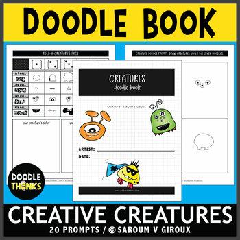 Monster Doodle Book