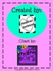 Monster Doodle Color Pages - School Subject Themed