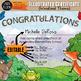 Illustrated Certificate: Woodland Theme EDITABLE