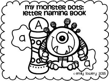 Monster Dots: Letter Names