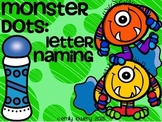 Monster Dots: Letter Names