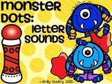 Monster Dots: Letter Sounds