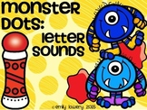 Monster Dots: Letter Sounds
