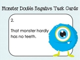 Monster Double Negative Task Cards