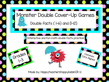 Monster Doubles Cover Up