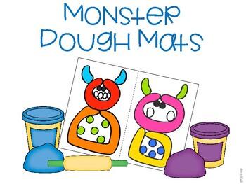 Monster Dough Mat Freebie