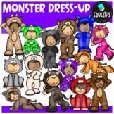 Monster Dress-Up Clip Art Bundle  {Educlips Clipart}