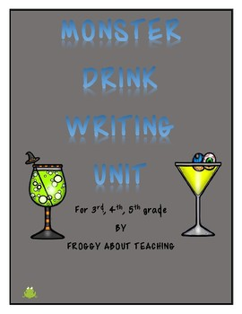Monster Drink Writing Unit